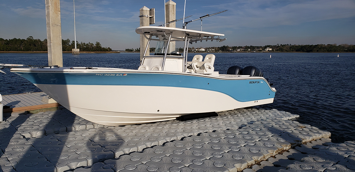 29-ft.-Seafox-158-block-lift-with-Boat-Boost