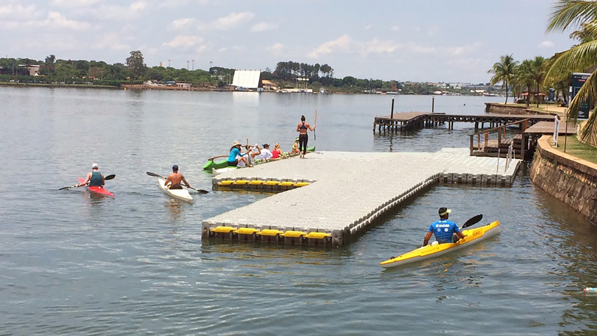 Kayak-Dock